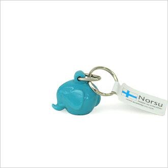 Norsu诺尔家具的象钥匙圈TQターコイズフィンランドMK-Tresmer公司制造