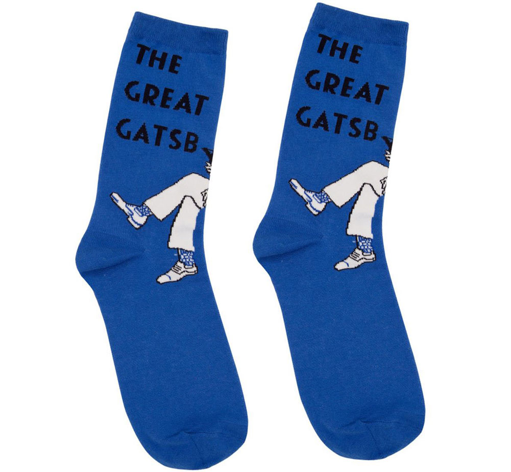 [Out of Print] F. Scott Fitzgerald / The Great Gatsby (Lewis Ed) Socks