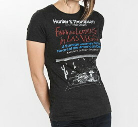 [Out of Print] Hunter S. Thompson / Fear and Loathing in Las Vegas Tee (Black) (Womens)
