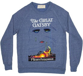 [Out of Print] F. Scott Fitzgerald / The Great Gatsby Sweatshirt (Light Blue)