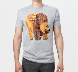 [Out of Print] Bill Martin, Jr. and Eric Carle / Brown Bear, Brown Bear, What Do You See? Tee (Heather Grey)