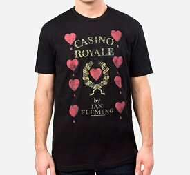 [Out of Print] Ian Fleming / Casino Royale Tee (Black)