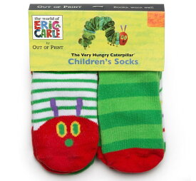 [Out of Print] Eric Carle / The Very Hungry Caterpillar Toddler Socks (4-Pack)
