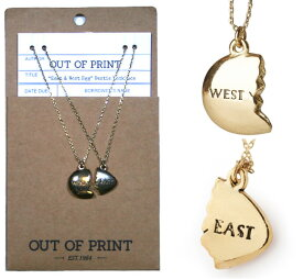 [Out of Print] East and West Egg Necklace (The Great Gatsby)