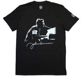 John Lennon / People for Peace Tee (Black)