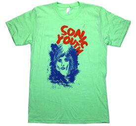 Sonic Youth / Ink Face Tee (Sea Foam)