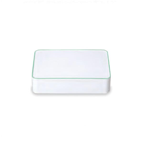 《SHOWA(正和)》SHOKADO LUNCH BOX グリーン 42-72142-1【irodori(イロドリ)】[お弁当箱 ランチボックス]