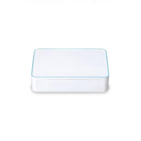 《SHOWA(正和)》SHOKADO LUNCH BOX ブルー 42-72143-8【irodori(イロドリ)】[お弁当箱 ランチボックス]
