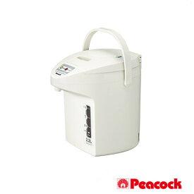 ピーコック 電気保温エアーポット (非沸とうタイプ) WTP-22 W ホワイト 2.2L[Peacock]