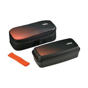 サーモス フレッシュランチボックス DJO-600 BKOR ブラックオレンジ[THERMOS]
