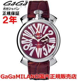 【国内正規品】GaGa MILANO ガガミラノ 腕時計 ウォッチ メンズ レディース MANUALE 46MM SLIM マニュアーレ46mm SLIM 5084.4