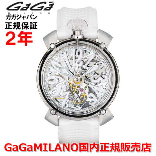 【楽天ランキング1位獲得!!】【国内正規品】GaGa MILANO ガガミラノ 腕時計 メンズ 時計 MANUALE CRYSTAL 48MM マニュアーレ クリスタル 48mm 6090.01