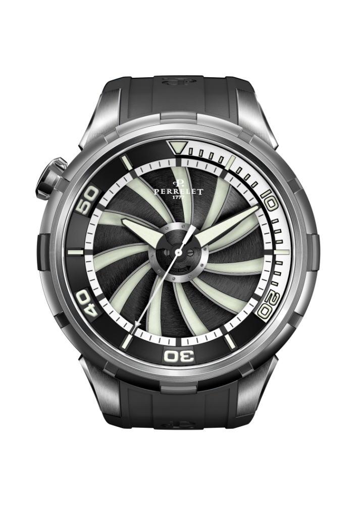 【国内正規品】 PERRELET/ペルレ 自動巻 腕時計 Turbine DIVER A1066/1