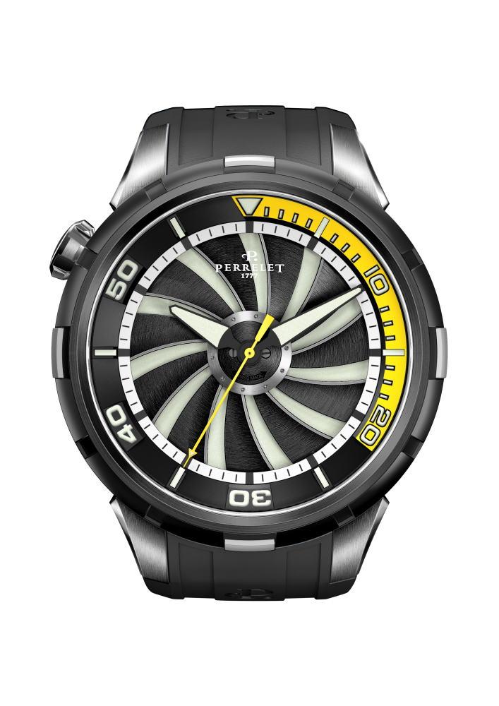 【国内正規品】 PERRELET/ペルレ 自動巻 腕時計 Turbine DIVER A1067/2