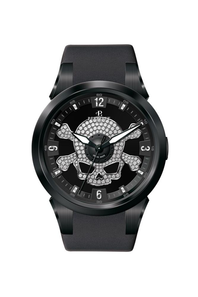 【国内正規品】 【スカル】PERRELET/ペルレ 自動巻 腕時計 SPECIAL EDITION Turbine TOXIC XS A4022/1