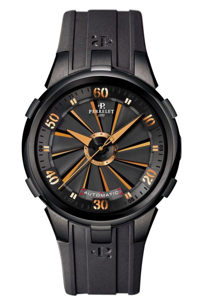 【国内正規品】 PERRELET ペルレ 自動巻 腕時計 世界限定500本 Turbine XL VEGAS A4053/1