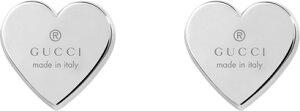 【国内正規品】 GUCCI グッチ トレードマーク ハート シルバー ピアス 356250 J8400 0702