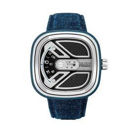 ご購入で白ラバースペアベルトプレゼント!!【国内正規品】SEVEN FRIDAY セブンフライデー 自動巻き メンズ レディース 腕時計 ウォッチ M1B-01 Urban Explorer