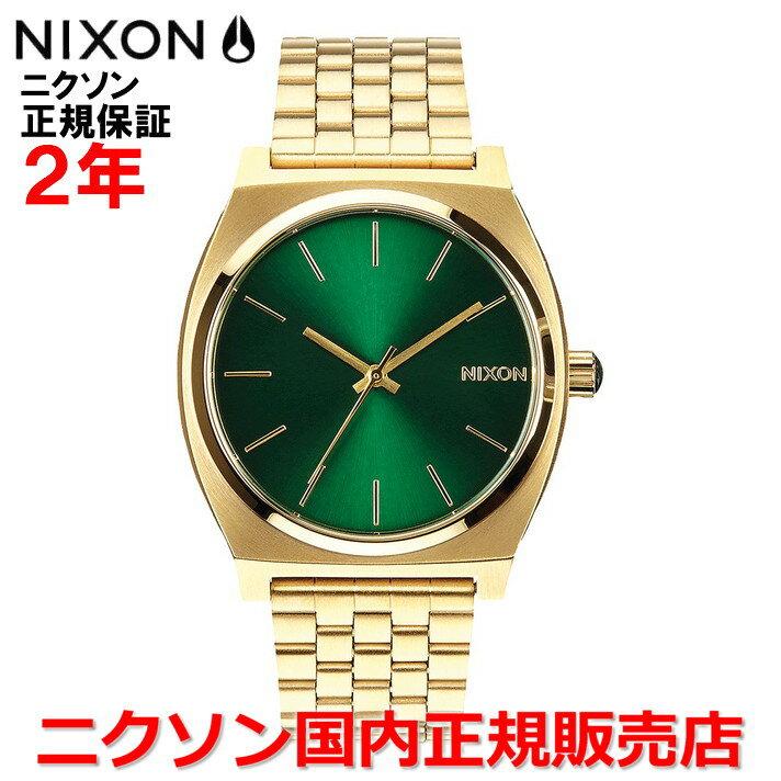 レビュー記入でNIXONノベルティープレゼント!!【国内正規品】NIXON ニクソン 腕時計 メンズ レディース Time Teller 37mm/タイムテラー NA0451919-00