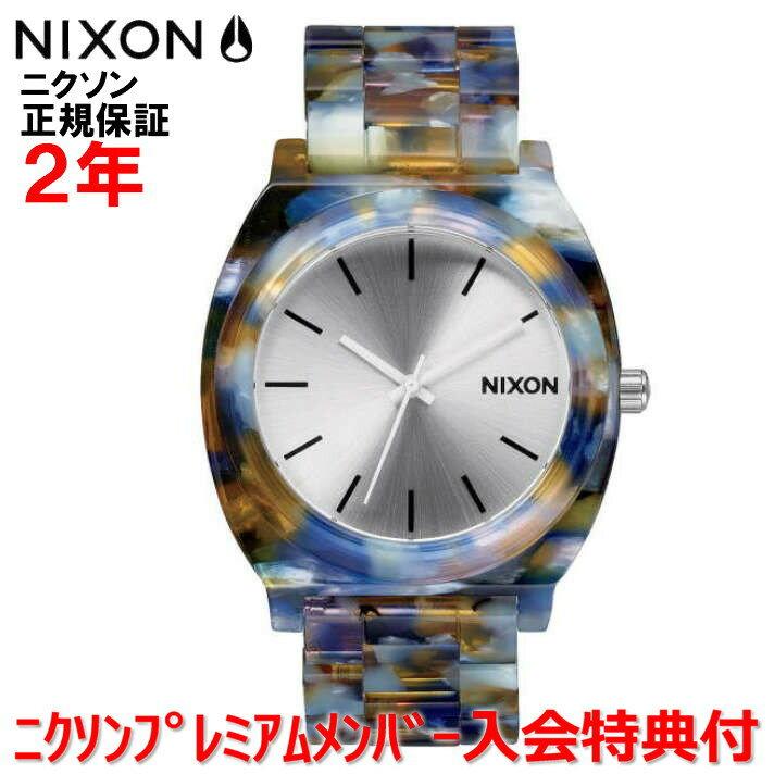 【国内正規品】NIXON ニクソン 腕時計 メンズ レディース Time Teller Acetate/タイムテラーアセテート NA3271116-00