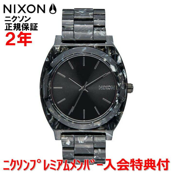 【楽天ランキング1位獲得!!】レビュー記入でNIXONノベルティープレゼント!!【国内正規品】NIXON ニクソン 腕時計 メンズ レディース Time Teller Acetate/タイムテラーアセテート NA3272185-00