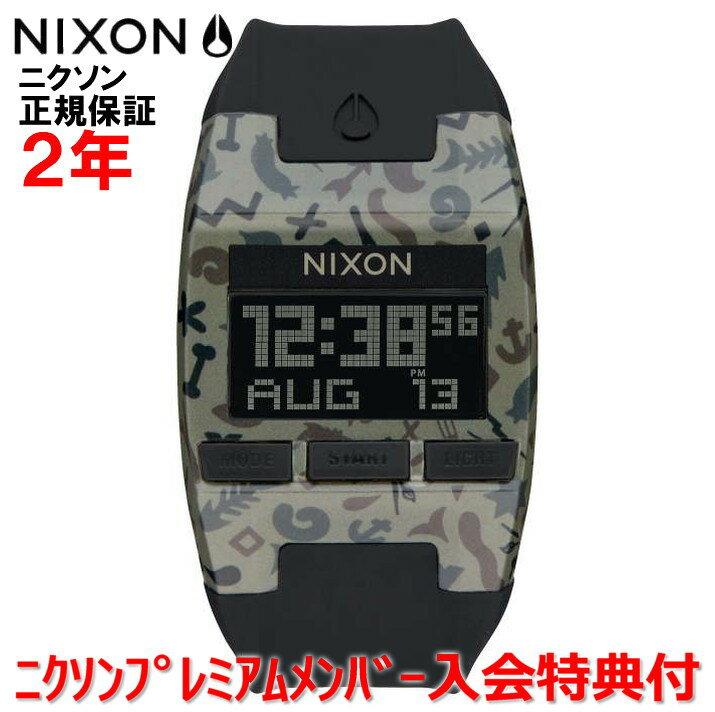 レビュー記入でNIXONノベルティープレゼント!!【国内正規品】NIXON/ニクソン 腕時計 メンズ Comp 38mm/コンプ NA4081716-00