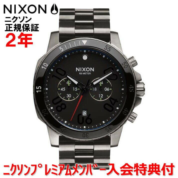 レビュー記入でNIXONノベルティープレゼント!!【国内正規品】NIXON ニクソン 腕時計 メンズ Ranger Chrono 44mm/レンジャークロノ44mm NA5491531-00