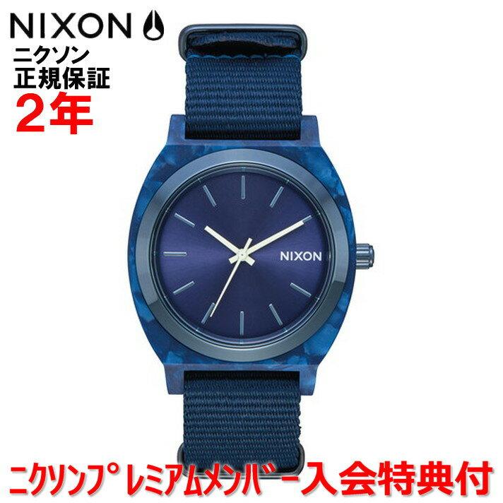 【国内正規品】NIXON ニクソン 腕時計 メンズ レディース Time Teller Acetate/タイムテラーアセテート NA3272490-00 【DRP】