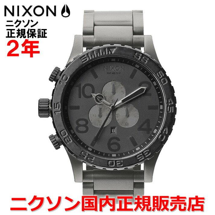 【国内正規品】 NIXON ニクソン 腕時計 メンズ 51-30 Chrono/クロノ 51mm NA0831062-00 【10P03Dec16】