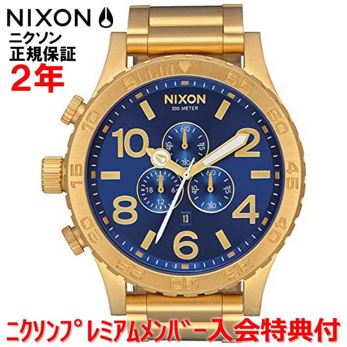 【国内正規品】NIXON ニクソン 腕時計 メンズ 51-30 Chrono クロノ 51mm NA0832735-00