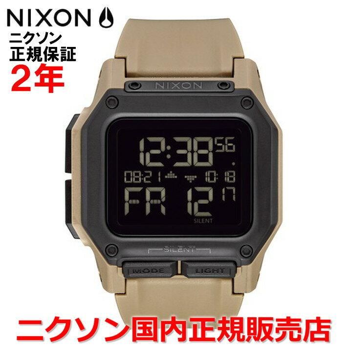 【国内正規品】NIXON ニクソン 腕時計 メンズ REGULUS レグルス NA11802711-00