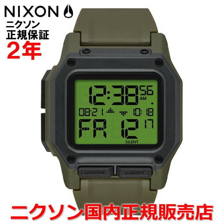 【国内正規品】NIXON ニクソン 腕時計 メンズ REGULUS レグルス NA11803100-00