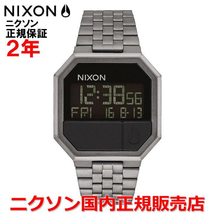 レビュー記入でNIXONノベルティープレゼント!!【国内正規品】NIXON ニクソン 腕時計 メンズ レディース Re-Run/リ-ラン NA158632-00
