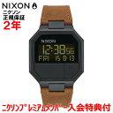 【国内正規品】 NIXON ニクソン 腕時計 メンズ レディース Re-Run Leather/リ-ランレザー NA944712-00 【10P03Dec16】