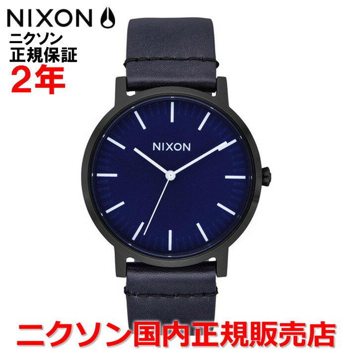 【国内正規品】NIXON ニクソン メンズ レディース 腕時計Porter Leather ポーターレザー40mm NA10582668-00