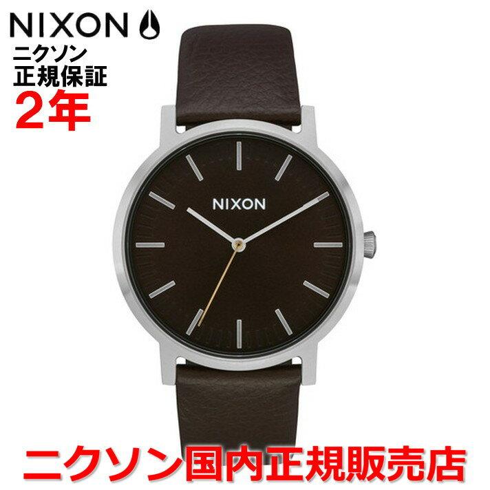 【国内正規品】NIXON ニクソン メンズ レディース 腕時計Porter Leather ポーターレザー40mm NA10582986-00
