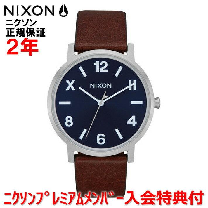 【国内正規品】NIXON ニクソン メンズ レディース 腕時計Porter Leather ポーターレザー40mm NA10583057-00