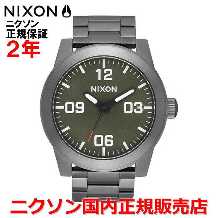 【国内正規品】NIXON ニクソン メンズ 腕時計 Corporal SS 48mm コーポラルSS NA3462947-00