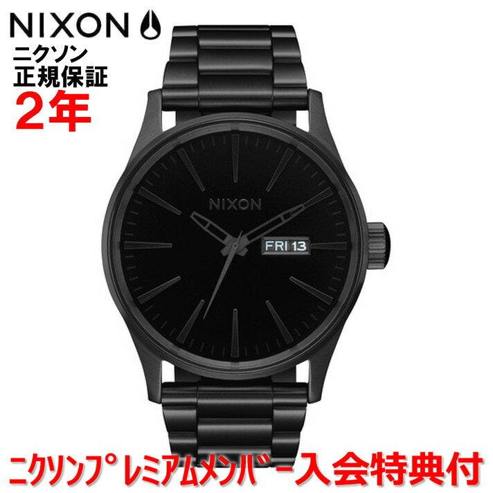 【国内正規品】NIXON ニクソン 腕時計 メンズ レディース Sentry SS セントリーSS 42mm NA3561147-00