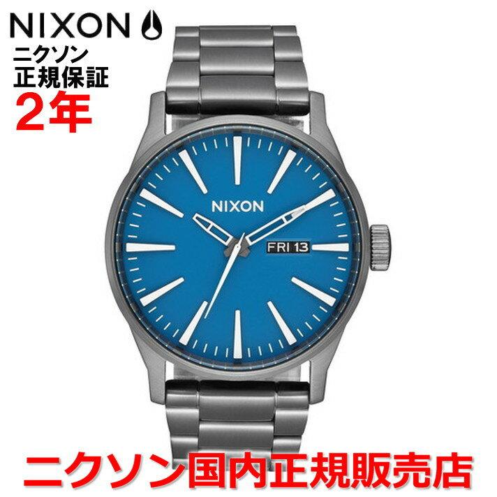 【国内正規品】NIXON ニクソン 腕時計 メンズ レディース Sentry SS セントリーSS 42mm NA3562854-00