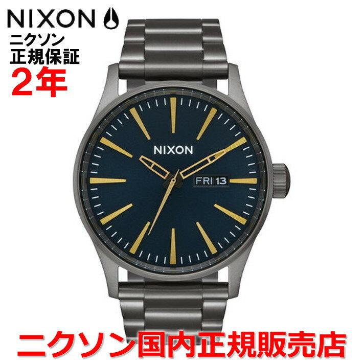 【国内正規品】NIXON ニクソン 腕時計 メンズ レディース Sentry SS セントリーSS 42mm NA3562983-00