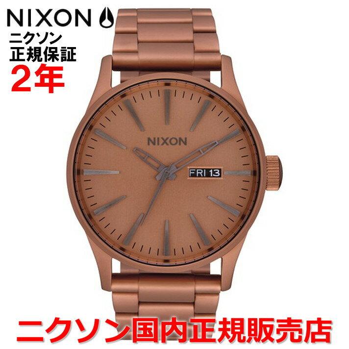 【国内正規品】NIXON ニクソン 腕時計 メンズ レディース Sentry SS セントリーSS 42mm NA3563165-00