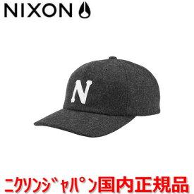 【国内正規品】NIXON ニクソン Cap/キャップ/帽子 メンズ レディース PREP WOOL STRAPBACK HAT/プレップ ウール ストラップバック ハット NC2835145-00