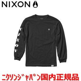 【国内正規品】NIXON ニクソン ロンT ロングスリーブTシャツ メンズ レディース BREAKAWAY ブレイクアウェイ サイズS/M NS2524000