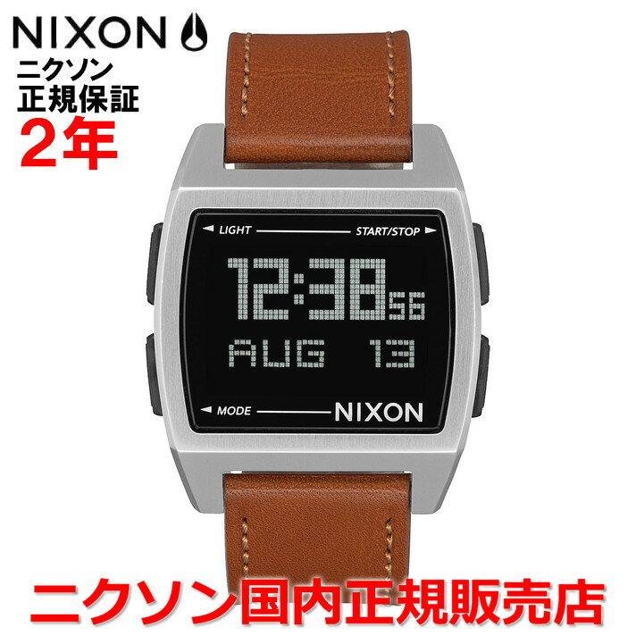 【国内正規品】 NIXON ニクソン 腕時計 メンズ レディース Base Leather/ベースレザー NA1181747-00