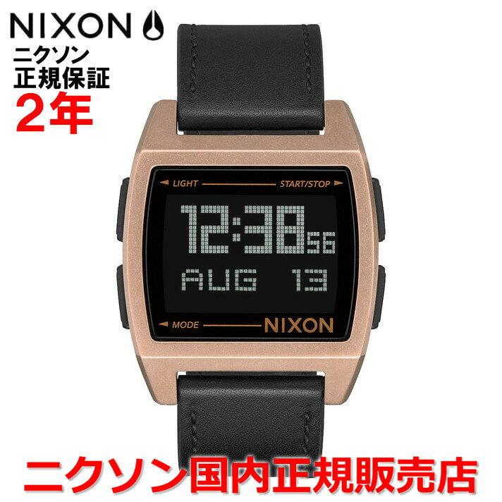 【国内正規品】 NIXON ニクソン 腕時計 メンズ レディース Base Leather/ベースレザー NA1181872-00