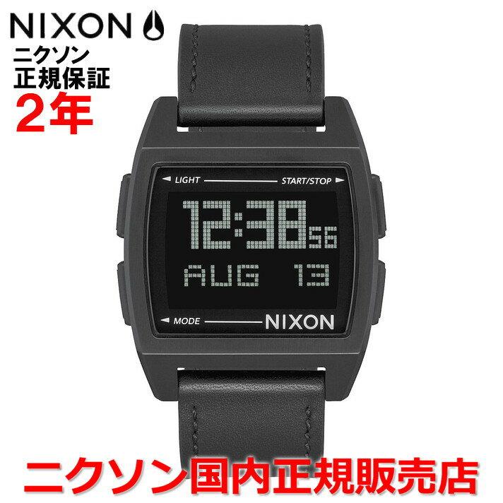 【国内正規品】 NIXON ニクソン 腕時計 メンズ レディース Base Leather/ベースレザー NA1181001-00