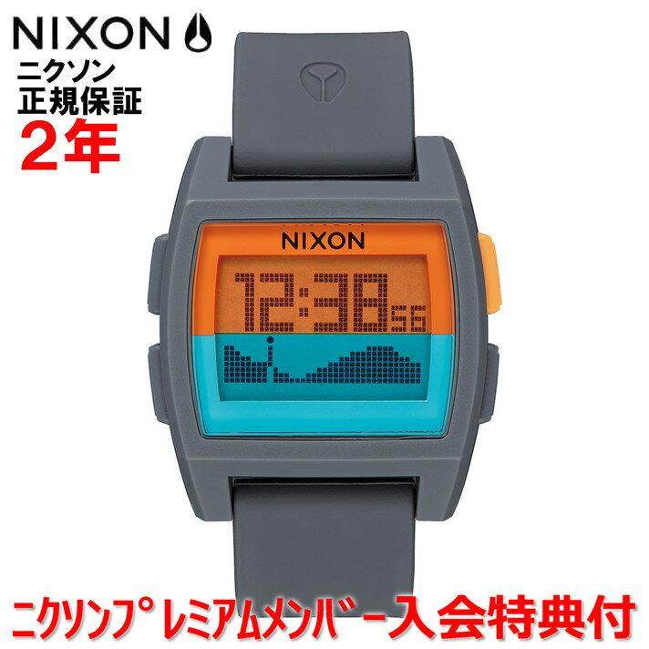 【国内正規品】 NIXON ニクソン 腕時計 メンズ レディース Base Tide/ベースタイド NA11042818-00