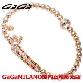 """【国内正規品】GaGa MILANO ガガミラノ Men's Ladies/メンズ レディース GB Bracelet/GBブレス GB-01-PG-MLT 番号""""1"""""""