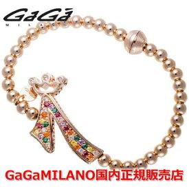 """【国内正規品】GaGa MILANO ガガミラノ Men's Ladies/メンズ レディース GB Bracelet/GBブレス GB-07-PG-MLT 番号""""7"""""""